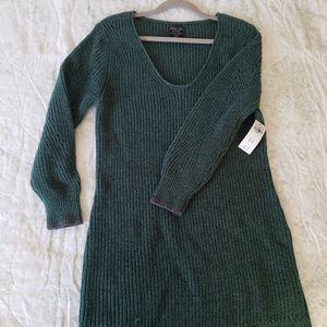 A&F Green Sweater Dress